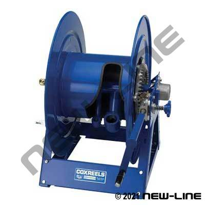 Coxreels Twin Vacuum & Air Line Reel - Geared Crank