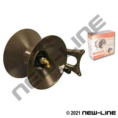 Medium Duty Garden Hose WallMount Reel (Side or Front Mount)