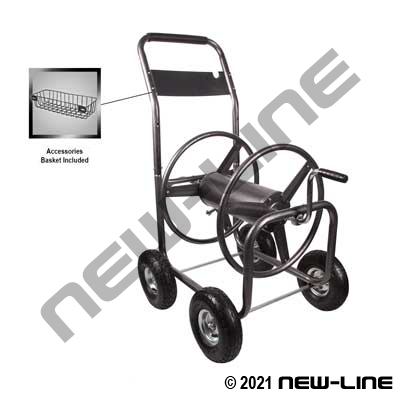 Medium Duty 4 Wheel Hose Reel Cart