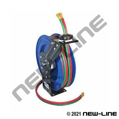 Commerical Duty Spring Rewind Welding Hose Reel