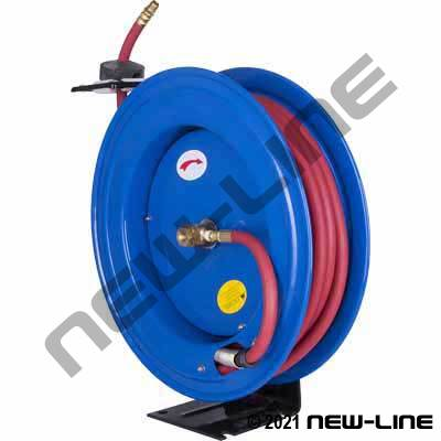 "Competitor Series Spring Rewind Air Hose Reel (w/ 3/8""x50')"