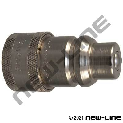Conversion ISO5675 Coupler X Harvester (Old Style) Nipple