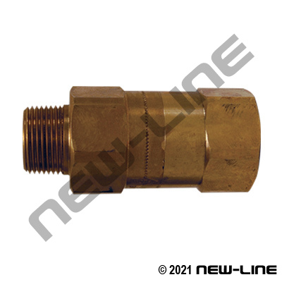 Safety Check Valve NPT Brass