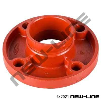 Grooved x ANSI 125/150# Flange Adapter