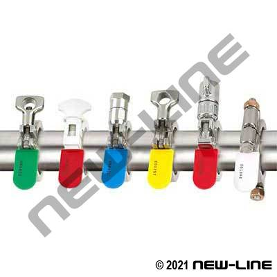 Multi-Coloured Lock & Label Tagging w/ 304SS Wire