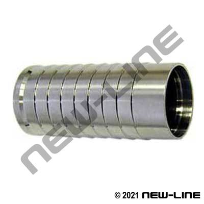 304 Stainless Steel Weld-On Sanitary Hose Stem