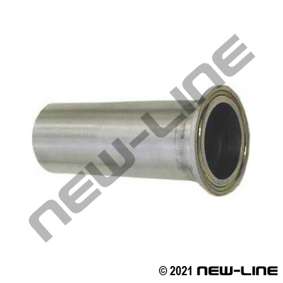 304 Stainless Steel Plain Hose Stem (No Barbs)