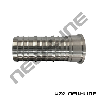304 Stainless Interlock Hose Barb x Fem Pacific Coast Thread