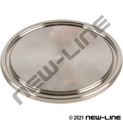 304 Stainless Steel Tri-Clamp End Cap