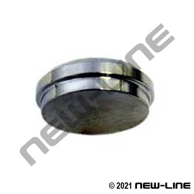 304 Stainless Steel Acme Bevel Thread End Cap