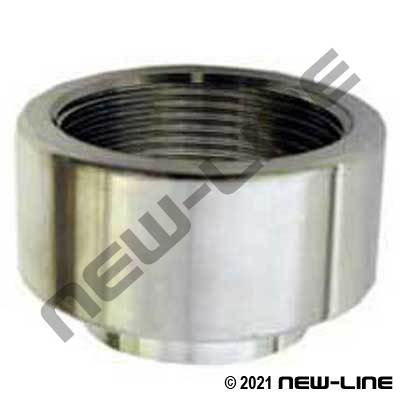 304 Stainless Steel Weld x Female NPT Adapter