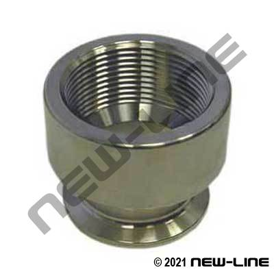 304 Stainless Steel Tri-Clamp x Female NPT Adapter