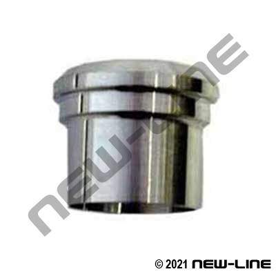 304 Stainless Steel Female Acme Weld Ferrule