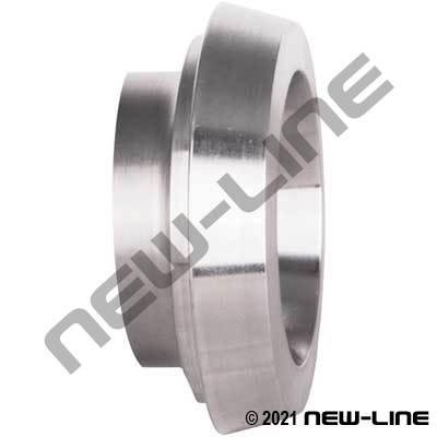 304 Stainless Long Female DIN40 Weld Ferrule