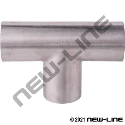 304 Stainless Steel Weld Tee Long Radius