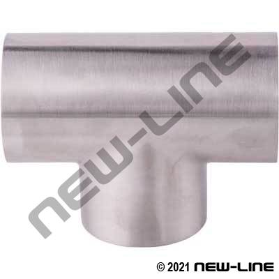 304 Stainless Steel Weld Tee