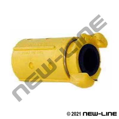 Nylon Sandblast Hose Coupling with Locking Clip