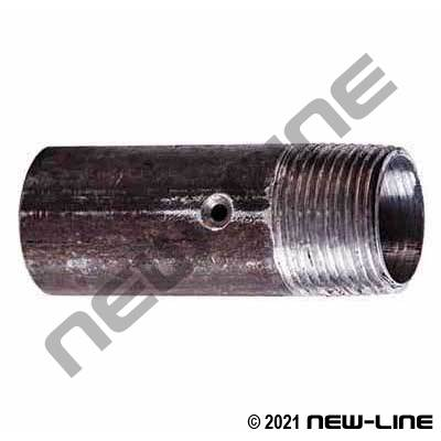 Black Steel Sandblast Nozzle Holder x Male NPT