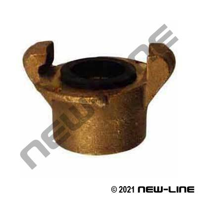 Brass Sandblast Female NPT Adapter