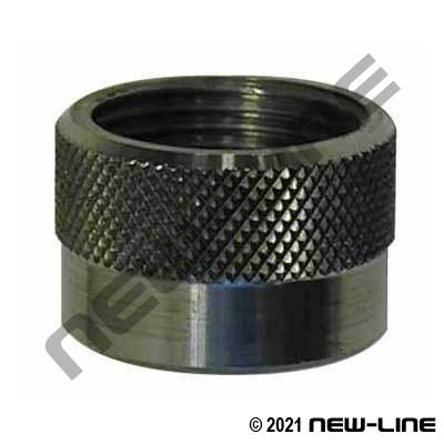 Ceramic Nozzle Holding Nut - Female NPT Sleeve