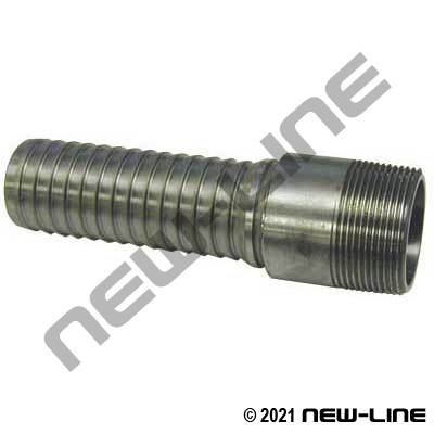 Male NPT Galvanized Steel Internal Expansion Fitting