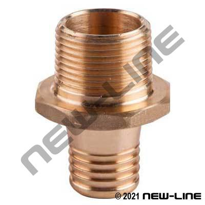 Male NPT Brass Scovill Internal Expansion Fitting