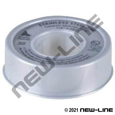 Gasoila HD Grey PTFE Tape (Stainless Steel)