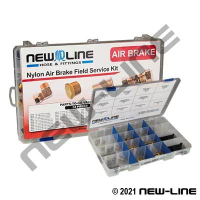 Air Brake Service Kit - Nylon Compression