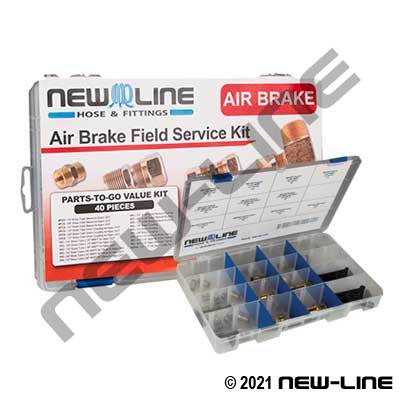 Airbrake Service Kit Small - Nylon Compression
