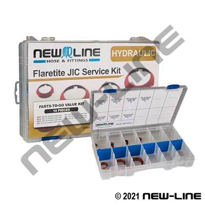 JIC Flaretite Coated Seal Kit
