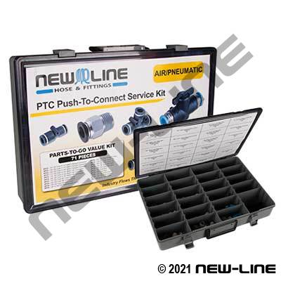 PTC Push-To-Connect Service Kit - Assortment