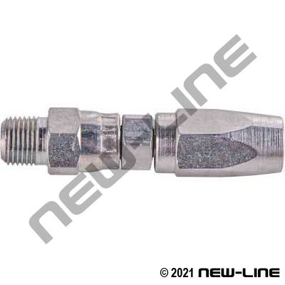 Field Attachable Hose x Male NPT Grease Line
