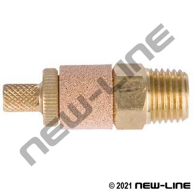 NPT Adjustable Conical Muffler