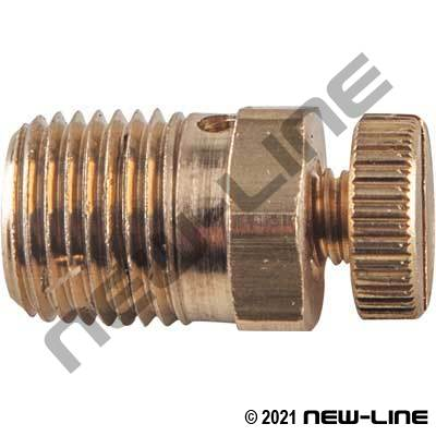 Male NPT Mini Threaded Bleeder Air Vent Valve