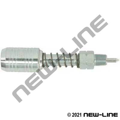 Grease Quick Disconnect Adapter Jaw Coupler To Needle Point