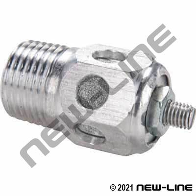 NPT Stainless Steel Breather Vent with Speed Control
