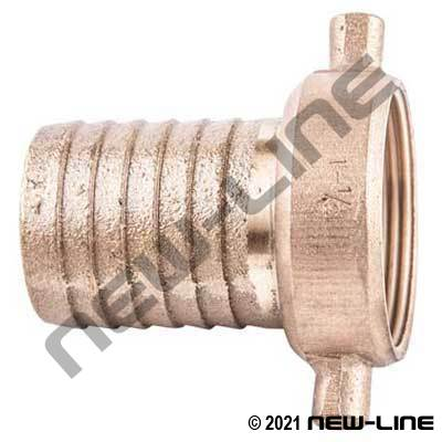 Brass Female NPSM Short Shank
