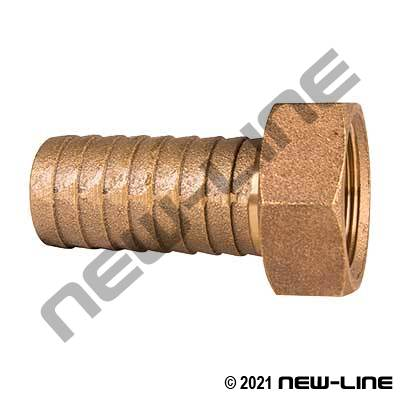 Brass Female NPSM Long Shank