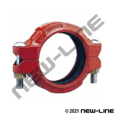 Grooved Heavy Duty Flexible Clamp
