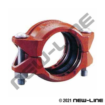 Plain End Bolt Coupling For Steel Pipe