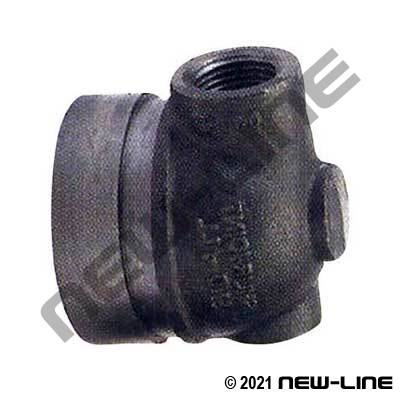 Grooved x NPT 90° End-All Cap