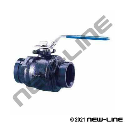 Groove Ductile Iron Ball Valve