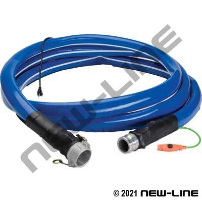 Heated Garden Hose W/Camlocks (180W,1.5A,120V,60Hz)