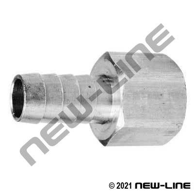 Stainless Hose Barb X Female NPT Solid