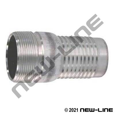 Aluminum Combination KC NPT Hose Nipple