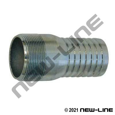 Plated Combination KC NPT Hose Nipple
