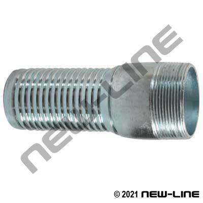 Crimp-Tech Galvanized NPT X-Long Stem (Uses Ferrule # WIL-)