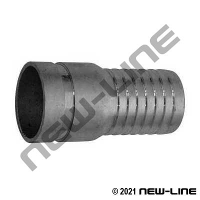 Stainless Steel Grooved Combination KC Hose Nipple