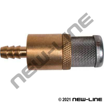 Mini Brass Strainer With Check Valve