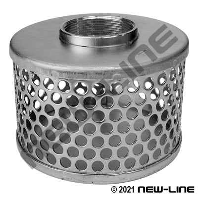 Stainless Round Hole Strainer